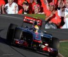 Lewis Hamilton - McLaren - Melbourne, Grand Prize of Australia (2012) (3rd position)