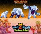 Freezefur, latest evolution. Invizimals The Lost Tribes. A huge beast, violent and fierce