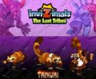 Tanuki, latest evolution. Invizimals The Lost Tribes. Powerful Invizimal with great self-confidence