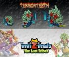 Terrorteeth, latest evolution. Invizimals The Lost Tribes. Aquatic Invizimal that eats very quick and that bites everything