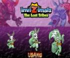 Usako, latest evolution. Invizimals The Lost Tribes. The mysterious dancer is a beautiful spy invizimal