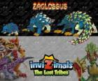 Zaglossus, latest evolution. Invizimals The Lost Tribes. Invizimal resembles a porcupine