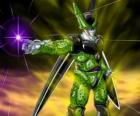Cell, the ultimate creation of Doctor Gero. An artificial life form created using cells from Goku and other characters