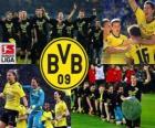 BV 09 Borussia Dortmund, champion of the Bundesliga 2011-12