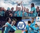FC Zenit St. Petersburg, champion of the Russian Football League, Premier League 2011-2012