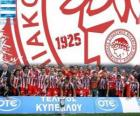 Olympiacos Piraeus, Super League 2011-2012 champion, Greek Football League