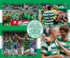 Celtic FC, champion of the Scottish Premier League 2011-2012