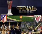 Atlético Madrid vs Athletic Bilbao. Europe League 2011-2012 Final at the National Stadium in Bucharest, Romania