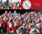 Ajax Amsterdam, champion Eredivisie 2011-2012, Dutch Football League