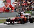 Fernando Alonso - Ferrari - Grand Prix of Spain (2012) (2nd position)