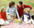 Picnic in the countryside to enjoy nature and food