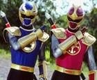 Thunder Ranger are a duo Crimson and Navy
