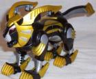 The Lion Zord, Yellow Power Ranger. Ninja Power Rangers