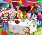 Strawberry Shortcake at a party