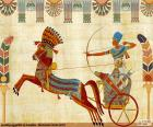 Egyptian Warrior and chariot