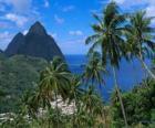 The Pitons, Santa Lucia island