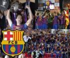 F.C Barcelona champion Copa del Rey 2011-2012