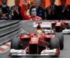 Fernando Alonso - Ferrari - GP of Monaco 2012 (3rd position)