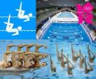 Synchronized swimming - London 2012-