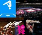 Gymnastics trampoline - London 2012 -