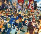Characters of Inazuma Eleven