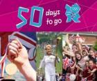 London 2012, 50 days