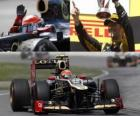 Romain Grosjean - Lotus - Grand Prize of Canada (2012) (2nd position)