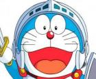 Doraemon in one of his adventures