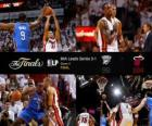 NBA Finals 2012, 4 th game, Oklahoma City Thunder 98 - Miami Heat 104