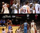 NBA Finals 2012, 5 th game, Oklahoma City Thunder 106 - Miami Heat 121