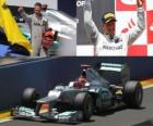 Michael Schumacher - Mercedes - GP of Europe 2012 (ranked 3rd)