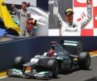 Michael Schumacher - Mercedes - GP of Europe 2012 (ranked 3rd)