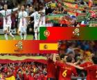 Portugal - Spain, semi-finals Euro 2012