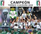 Club Santos Laguna, champion Clausura Mexico 2012