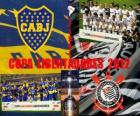 Boca Juniors vs Corinthians. Copa Libertadores Final 2012
