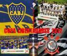 Boca Juniors vs Corinthians. Copa Libertadores Final 2012