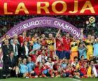 Spain, UEFA EURO 2012 Champion