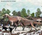Yutyrannus with nearly 9 meters in length is the largest dinosaur with feathers known