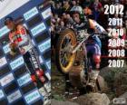 Toni Bou 2012 trial world champion