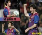 Leo Messi, top scorer in the history of the League Spanish, 2011-2012