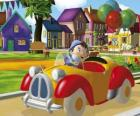 Noddy driving your car