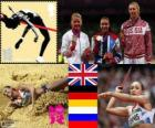 Women heptathlon London 2012