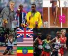 Athletics men's 10,000 m London 2012