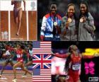 Athletics women's 400 m London 2012