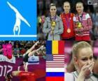 Women's artistic gymnastics vault LDN12