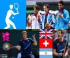 Tennis men's singles London 2012