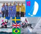 Sailing star class London 2012