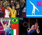 Artistic gymnastics rings London 2012