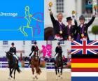 Riding team dressage London 2012