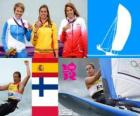 Sailing RS: X women London 2012